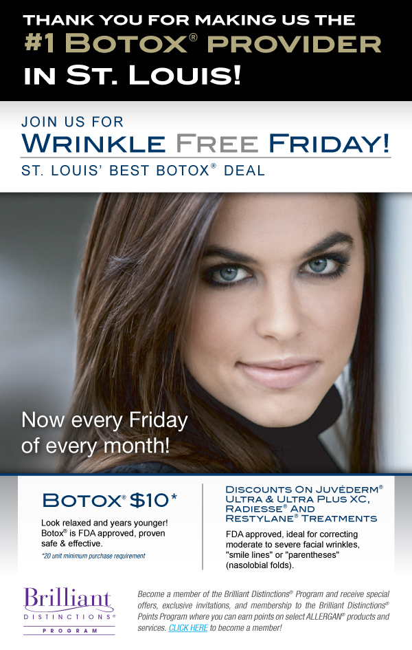 Join us for Wrinkle Free Fridays!